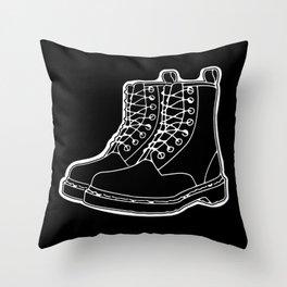 Kickers Throw Pillow