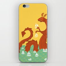 It's a Good Day to be a Sea Monster iPhone & iPod Skin
