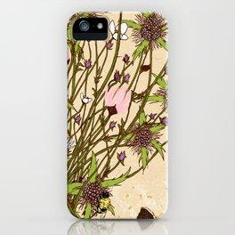 Wild Flowers Part 2 iPhone Case
