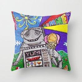 Summer Yum Throw Pillow