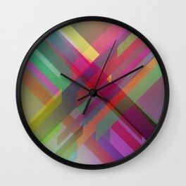 Crossing lines... Wall Clock