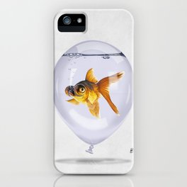 Inflated (Wordless) iPhone Case