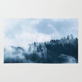 The Fog In The Trees Rug