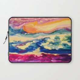 My Starry Watercolor Night Laptop Sleeve