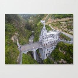 Sanctuario de Nuestra Señora Las Lajas Canvas Print