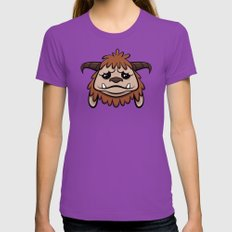 Friend LARGE Womens Fitted Tee Ultraviolet