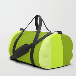Lime Green Square Design Duffle Bag