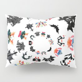Rorschach test subjects' perceptions of inkblots psychology   thinking Exner score Pillow Sham