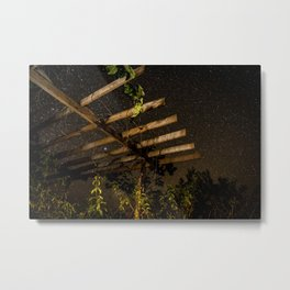 The Night Sky in Costa Rica Metal Print