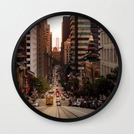Lingering in San Francisco Wall Clock