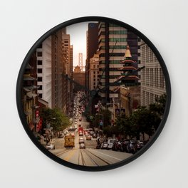 Lingering in San Francisco Wall Clock