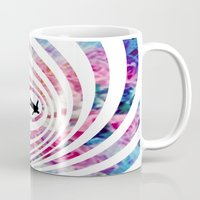 vertigo Mugs featuring VERTIGO by Tia Hank