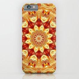 Flower Of Life Mandala (Pneuma) iPhone Case