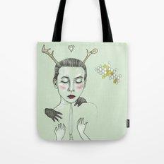 kış (winter) Tote Bag
