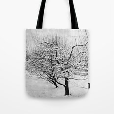 Blankets of Snow Tote Bag