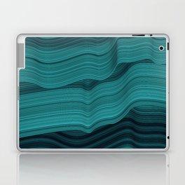 Blue waves Laptop & iPad Skin