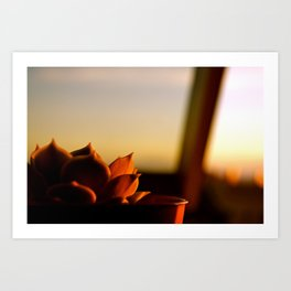 Painted by the Sun Art Print