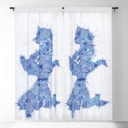 Badfinger - Baby  Blue Blackout Curtain
