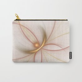 Nobly In Gold And Copper, Fractal Art Carry-All Pouch