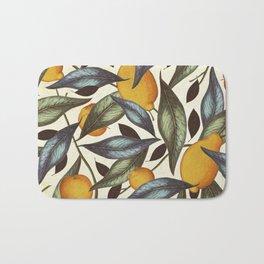 Lemons, Oranges & Pears Bath Mat
