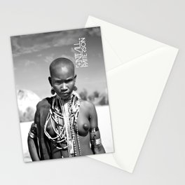 airborne tribe omo valley Stationery Cards