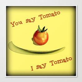 Tomato, Potato Canvas Print