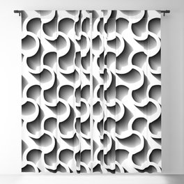 3D Lost In The Maze of Life Blackout Curtain