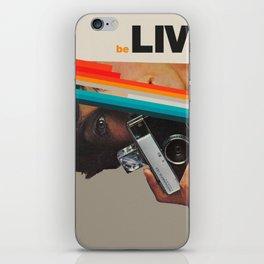 beLive iPhone Skin