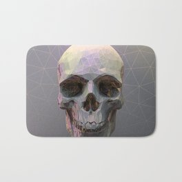 Skull Colorful Wires 1 Bath Mat