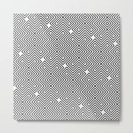 Op Art 24 Metal Print