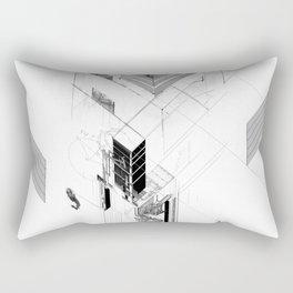 The Unseen Rectangular Pillow