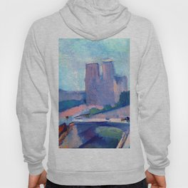 Henri Matisse Notre Dame in the Late Afternoon Hoody