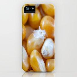 Popcorn Kernels iPhone Case