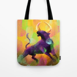 Ragging Bull Tote Bag