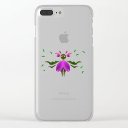 Green Mage Clear iPhone Case