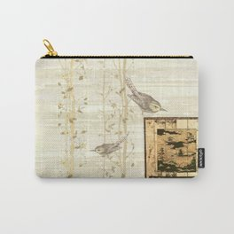 Bird On Screen Carry-All Pouch