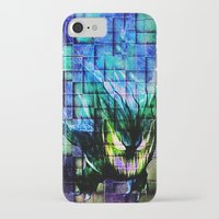 gengar iPhone & iPod Cases featuring Gengar Blix by Angela Chevelle