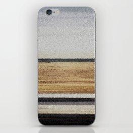 black horizon iPhone Skin