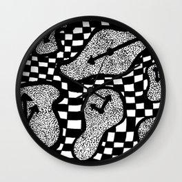 Trippy Clock Wall Clock