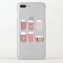 Movie and Popcorn Time Clear iPhone Case