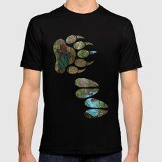 Bear Bow Hunting Mens Fitted Tee Black SMALL