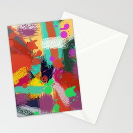 Color clock Stationery Cards