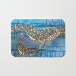 Two Whales Bath Mat