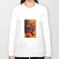 metal gear Long Sleeve T-shirts featuring metal gear by ururuty