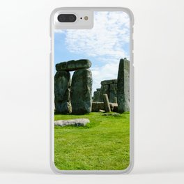 Stonehenge Wiltshire England Clear iPhone Case