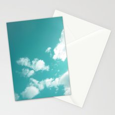 Teal kissed sky. Stationery Cards