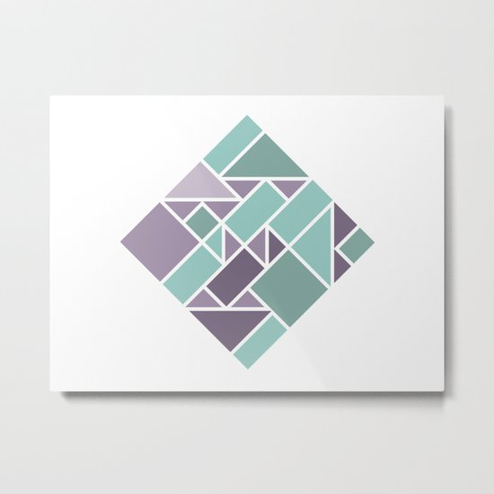 Shapes 006 Metal Print