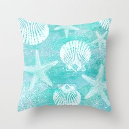 coastal Throw Pillow