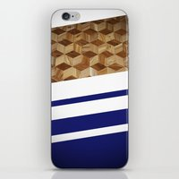 wooden iPhone & iPod Skins featuring Wooden  by Fox Industries