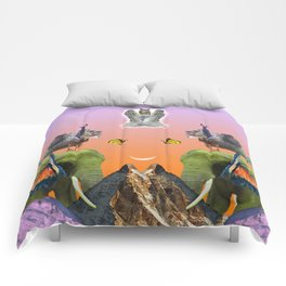 Rainbow Mountain Comforters
